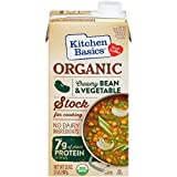 32 oz slow cooker - Kitchen Basics Organic Creamy Bean & Vegetable Stock, 32 fl oz