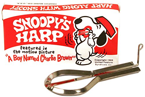 Trophy 3490 Snoopy Jaws Harp