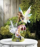 Cheap Garden Decor Solar Fairy Garden Statue
