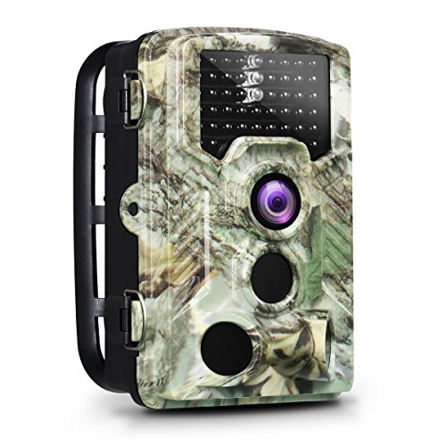Precise Lcd Video Cable - OGL Trail Camera 16MP 1080P 2.4'' LCD Game Hunting Camera 120° PIR Sensor 0.2s Fasts Trigger Night Vision up to 65ft/20m with 46Pcs 850nm Infrared LED IP56 Waterproof 32GB for Wildlife Scouting