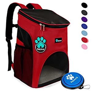 22. PetAmi Premium Pet Carrier Backpack for Cats and Small Dogs