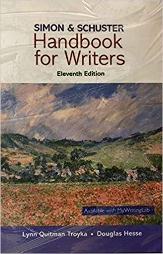 Simon & Schuster Handbook for Writers (10th Edition)