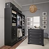 Home Styles 5531-7592 4 Piece Closet Organizer
