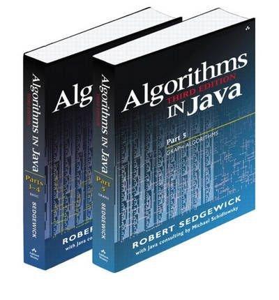 Read Online Algorithms in Java: Parts 1-4; Part 5 [ ALGORITHMS IN JAVA: PARTS 1-4; PART 5 ] By Sedgewick, Robert ( Author )Jul-22-2003 Paperback pdf epub