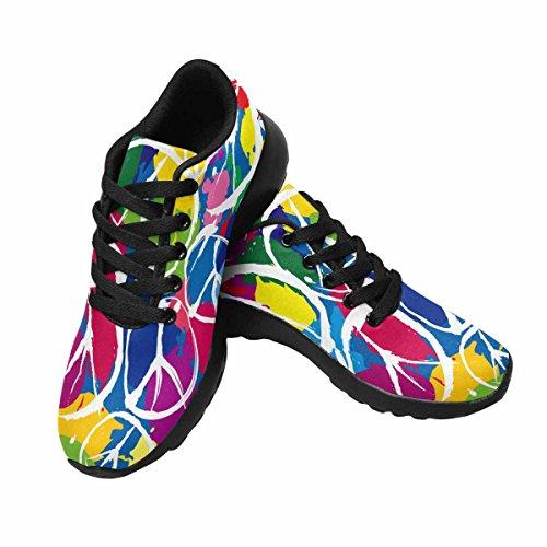 InterestPrint Womens Jogging Running Sneaker Lightweight Go Easy Walking Comfort Sports Running Shoes Multi 8 cQ83jNY4Y