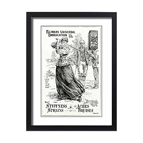Framed 24x18 Print of Advert for for Elliman s Universal Embrocation 1897 (14381817) by Prints Prints Prints (Image #3)