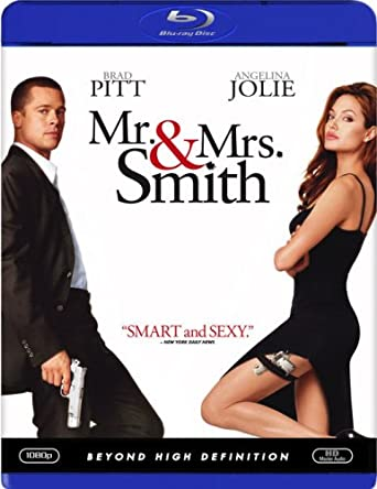 Mr And Mrs Smith Blu Ray 2005 Us Import Region A Amazon Co Uk Brad Pitt Angelina Jolie Vince Vaughn Adam Brody Kerry Washington Keith David Chris Weitz Rachael Huntley Michelle Monaghan Stephanie March Doug