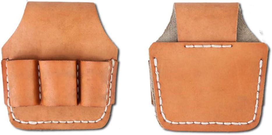 Bolsa de herramientas para electricista, cinturón de cuero, kit de bolsillo para cintura, bolsa de herramientas, destornillador de bolsillo, kit de soporte