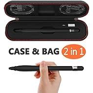 [Sponsored]Compatible Apple Pencil Case, Compatible for Apple Pen Carrying Bag Holder Nib Cover...