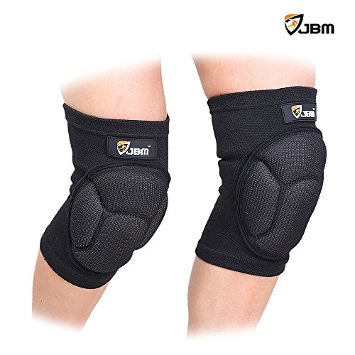 JBM Adult Volleyball Knee Pads Guard Brace Patella Shin Support Protector Knee Stabilizer Safe Comfortable Elastic