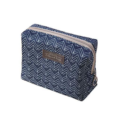 Aland Fashion Women Travel Toiletry Makeup Storage Pouch Portable Zipper Bag Organizer 2#