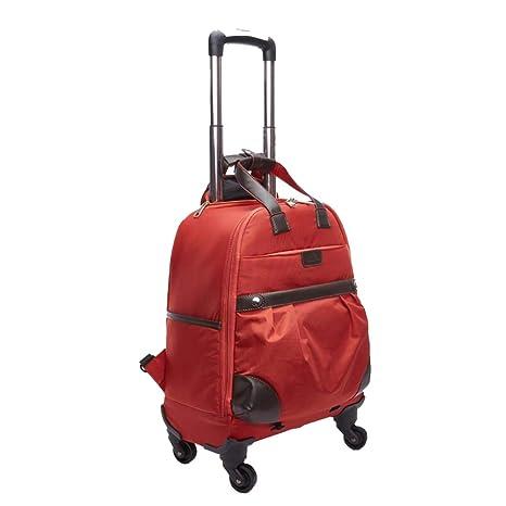FZHZZ Trolley Bag Equipaje Maleta 35 * 19 * 49Cm Mochila De ...