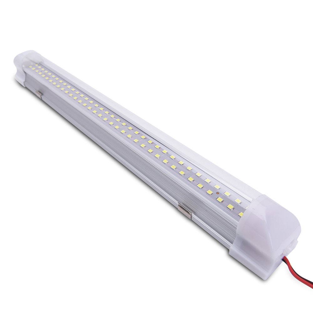 Mictuning 135 Car Interior Led Light Bar 35w 72 Trailer Kit Moreover Utility Stop Turn Tail Lamp With On Off Switch For Van Lorry Truck Camper Boat 2 Pcs Automotive