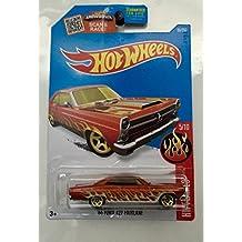 NEW 2016 Hot Wheels '66 FORD 427 FAIRLANE (Orange) K-Mart Exclusive 5/10 HW Flames 95/250