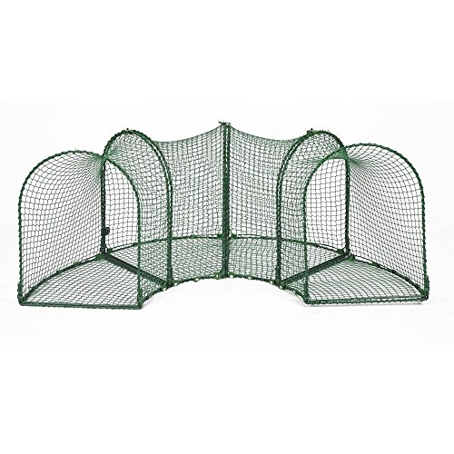 Curves (4) Outdoor Cat Enclosure - Green by Kittywalk