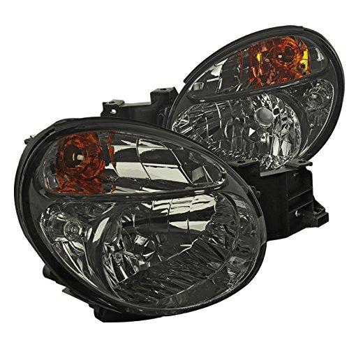 Subaru Impreza WRX/Outback Smoke Lens Headlights Left+Right Pair