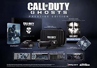 Call of Duty: Ghosts Prestige Edition - Xbox 360 (B00EEMLRTS) | Amazon price tracker / tracking, Amazon price history charts, Amazon price watches, Amazon price drop alerts