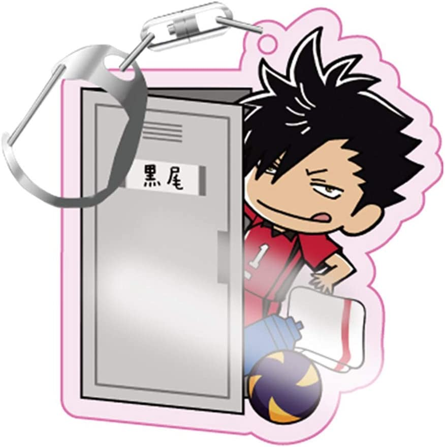 Elibeauty Lunanana Haikyuu Porte-cl/és Hinata Shoyo Kageyama Tobio Anime Porte-cl/és Pendentif d/écoratif Style 02