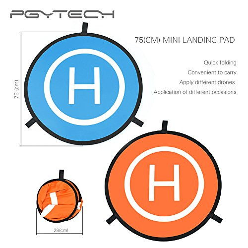 Crazepony PGY 75cm Drone Landing Pad Helipad for RC Drone DJI Phantom 2 3 4 Inspire 1 Mavic Parrot Syma Wltoys Hubsan Cheerson