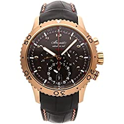 Breguet Type XXII Mechanical (Automatic) Brown Dial Mens Watch 3880BR/Z2/9XV (Certified Pre-Owned)