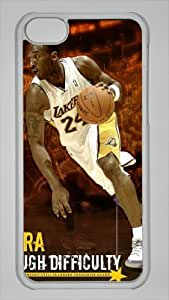 Kobe Bryant Custom PC Transparent Case For Ipod Touch 4 Cover