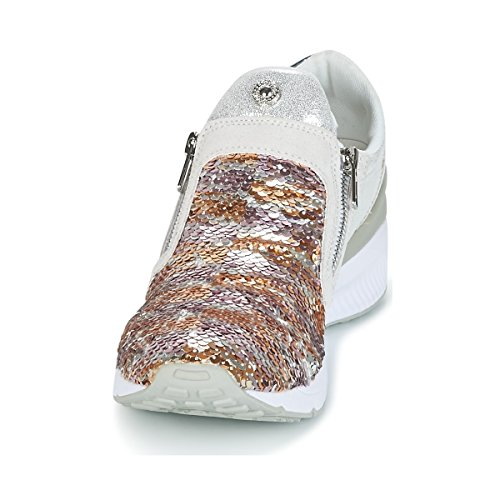 Para e70024 Ee0vrbsb1 Versace Mujer Gris Zapatillas Jeans nHqH4gw