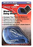 Swing Sock 8 oz. Weighted Golf Warm-Up/Trainer Attaches to Club Head (Fits Irons Only)