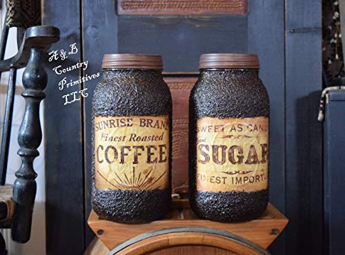 Pantry Set, Coffee & Sugar