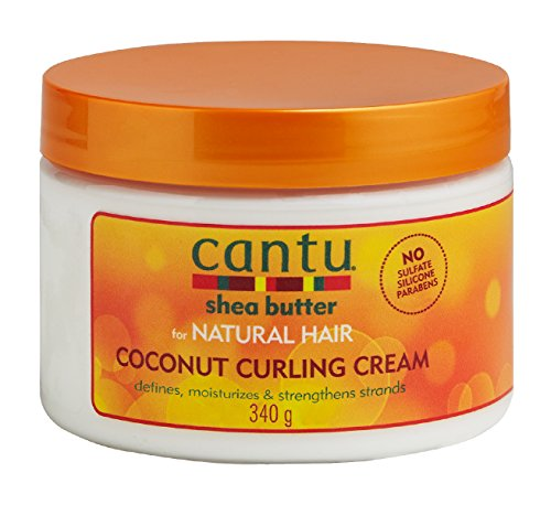 Cantu Shea Butter Products - Cantu Coconut Curling Cream, 12 Ounce
