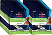 Bissell Stomp 'N Go Pet Lifting Pads + Oxy for Stain Removal on Carpet & Area Rug Cleaning, 20 Pa