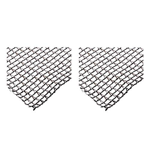 DeWitt Deluxe 20 x 20 Foot Heavy Duty Backyard Fish Pond Netting Cover (2 Pack)