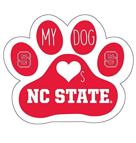 NC STATE WOLFPACK STICKER-NORTH CAROLINA STATE DOG PEEL AND STICK DECAL