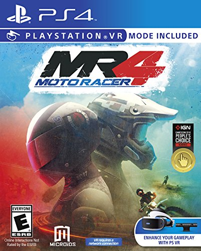 Moto Racer - Moto Racer 4 - PS4 - PlayStation 4