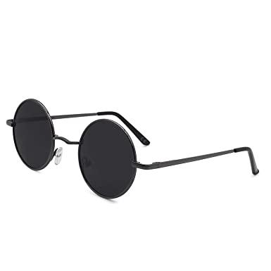 91748bfb86600 AMZTM Retro Classic Semi-rimless Clubmaster Horn Polarized Sunglasses for  Men Women Vintage Eyewear Fashion