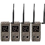 Cuddeback 2 Flash Invisible IR Game Trail Cameras + Wireless Network (4 Each)