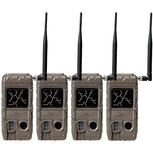 Cuddeback 2 Flash Invisible IR Game Trail Cameras + Wireless Network (4 Each)