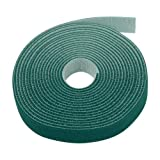 1 2 inch zip ties - Sticky Cable Cord Wire Tie Strap Tape (Green) - Fastening Adhesive 3/4