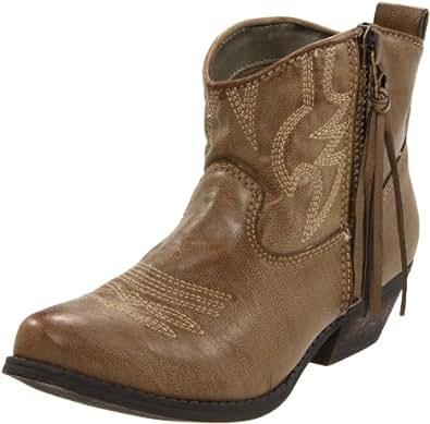 Big Buddha Women's Wylan Ankle Boot,Caramel,9 M US