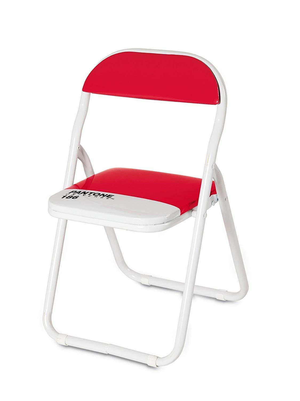 Seletti Pantone Metal Folding Baby Chair, Metal, Ruby Red, 186-Inch 16969