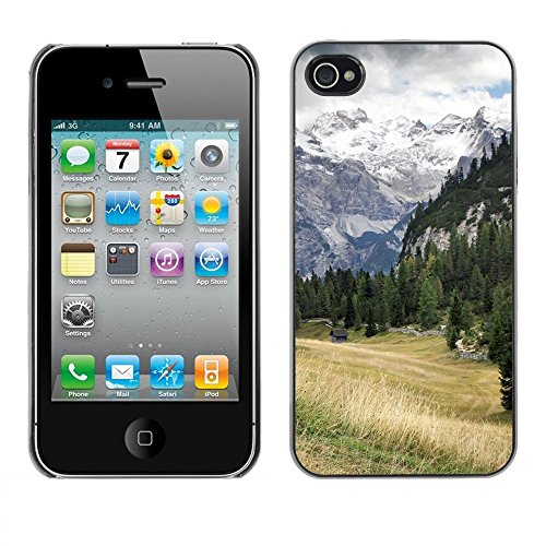 Premio Sottile Slim Cassa Custodia Case Cover Shell // F00002509 Stolla stollaalm // Apple iPhone 4 4S 4G