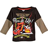 Disney Cars Toddler Brown T-Shirt 8J6911 (2T)