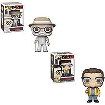 Funko POP! Movies Jurassic Park 25th Anniversary Edition: John Hammond and Dennis Nedry Toy Action Figure - 2 POP BUNDLE