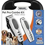 Professional Deluxe Pet Grooming Cordless Trimmer Dog Cat Kit Wahl Clippers