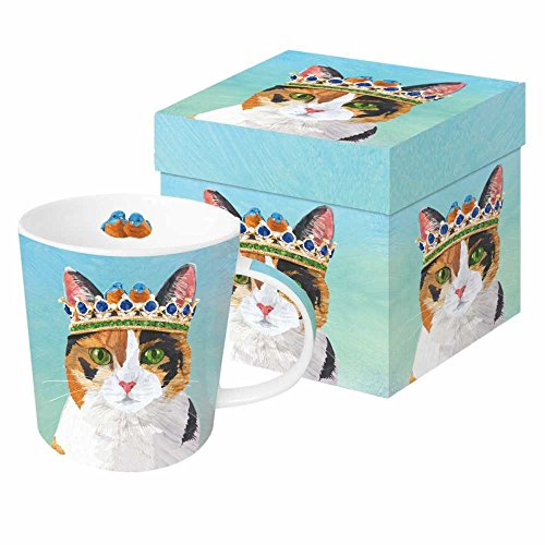 Paperproducts Design PPD 603312 Princess Grace Mug in Gift Box, 13.5oz, Multicolor