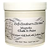 Chalk Paint Kitchen Cabinets Chalk It Paint Finish for Furniture Arts Crafts and More! 8 oz. Magnolia White