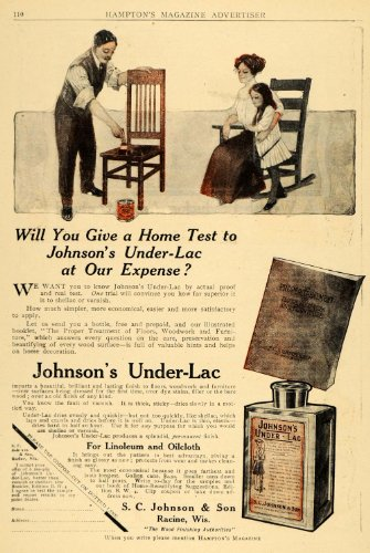1910-ad-s-c-johnson-under-lac-wood-furniture-finish-chair-wood-restore-stain-original-print-ad