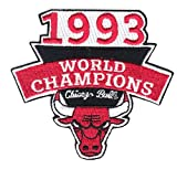 1993 Chicago Bulls NBA Finals Champions Embroidered Basketball Jersey Patch