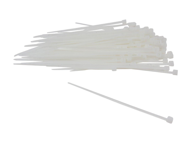 Nippon Labs CT-4MINI-NA 4-Inch Mini Cable Ties Natural 100-Pieces/Bag