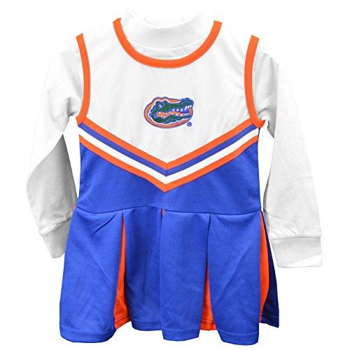 Florida Gators Girls One Piece Cheer Dress - Size 6