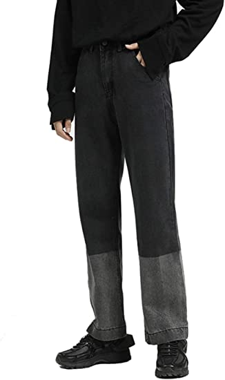 (ゼロポイント)ZEROPOINT ストレート デニム パンツ ジーンズ メンズ ゆったり ワイドパンツ カジュアル